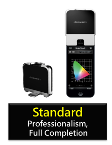 Spectrophotometer picture of standard